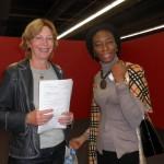 Mit Sefi Atta auf der Frankfurter Buchmesse 2010